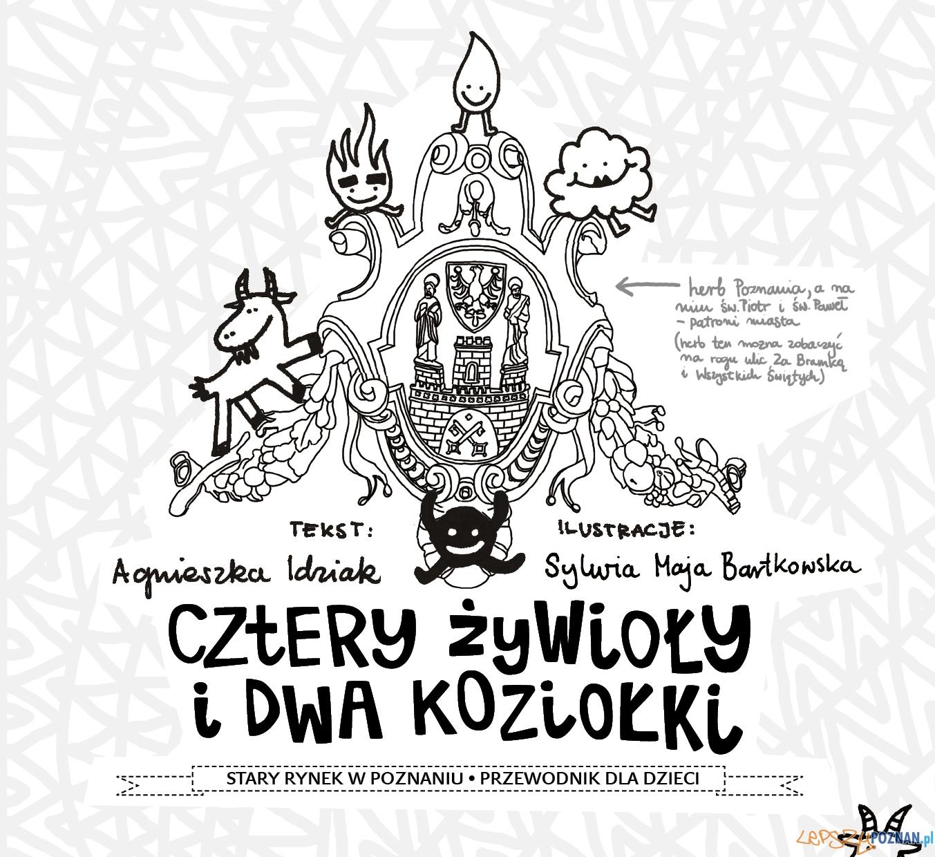 Przewodnik po Poznaniu dla dzieci - okładka   Foto: