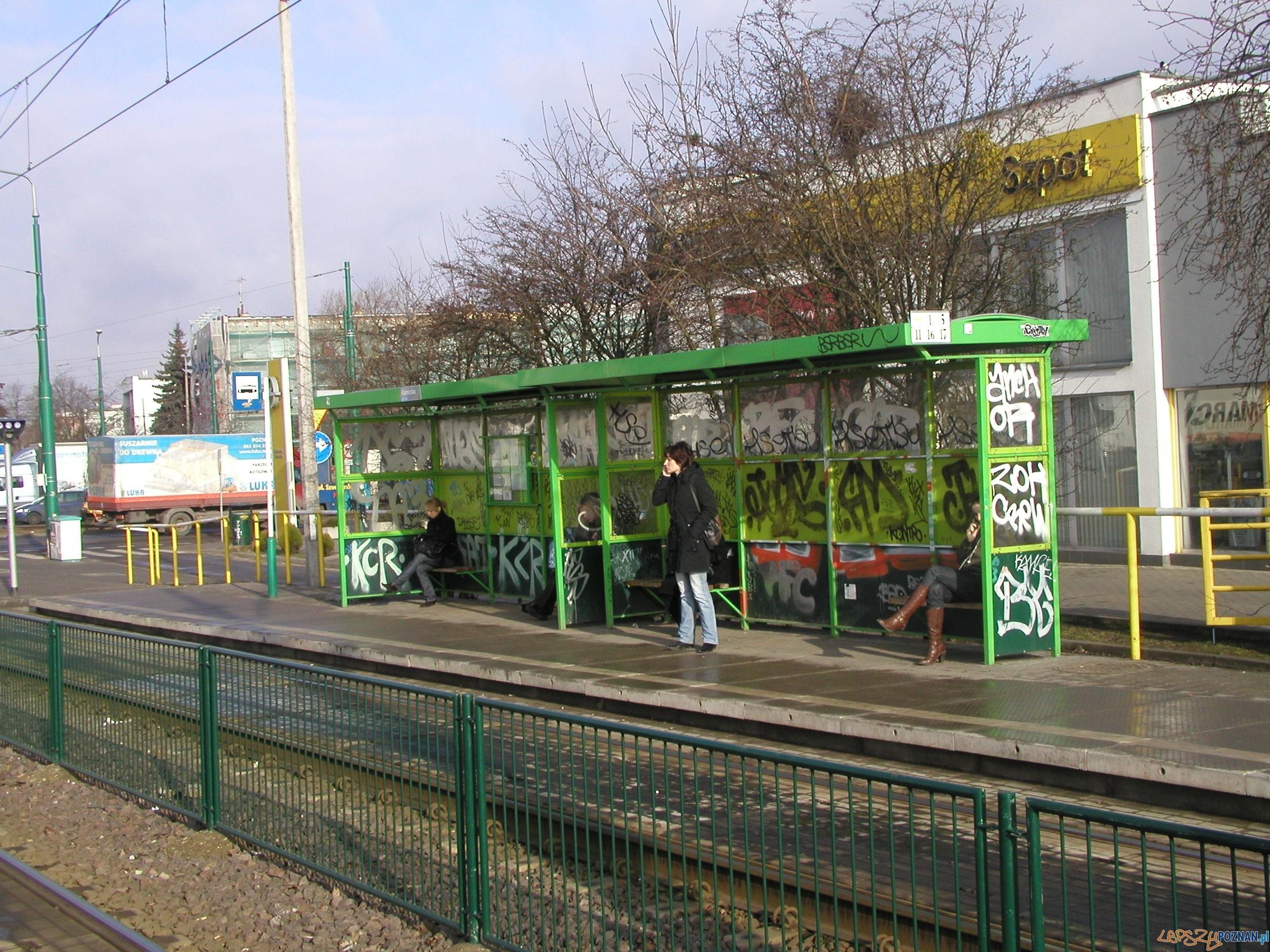 Przystanek Kórnicka   Foto: MPK Poznań