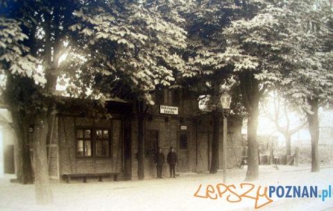 Stacja kolejki w Kobylepolu Foto: Stacja kolejki w Kobylepolu