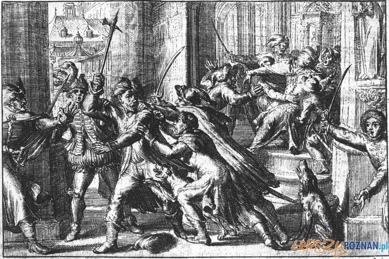 Zamach na króla Zygmunta Foto: CC/wikipedia