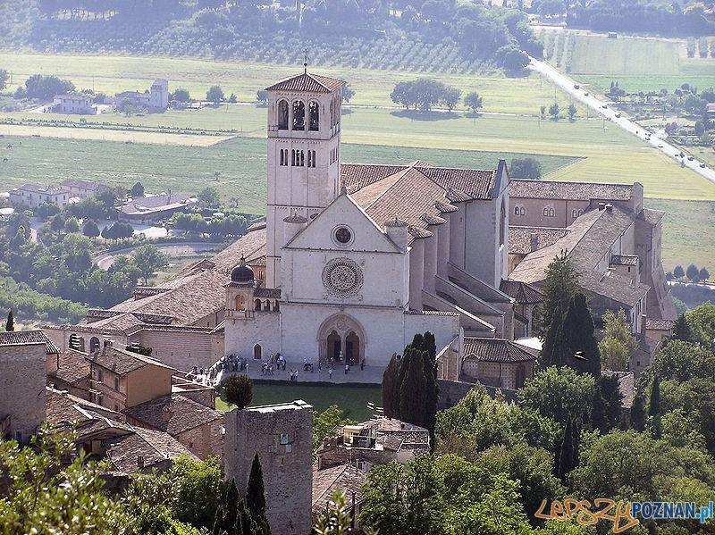Bazylika Sw. Franciszka w Asyzu Foto: CC/wikipedia