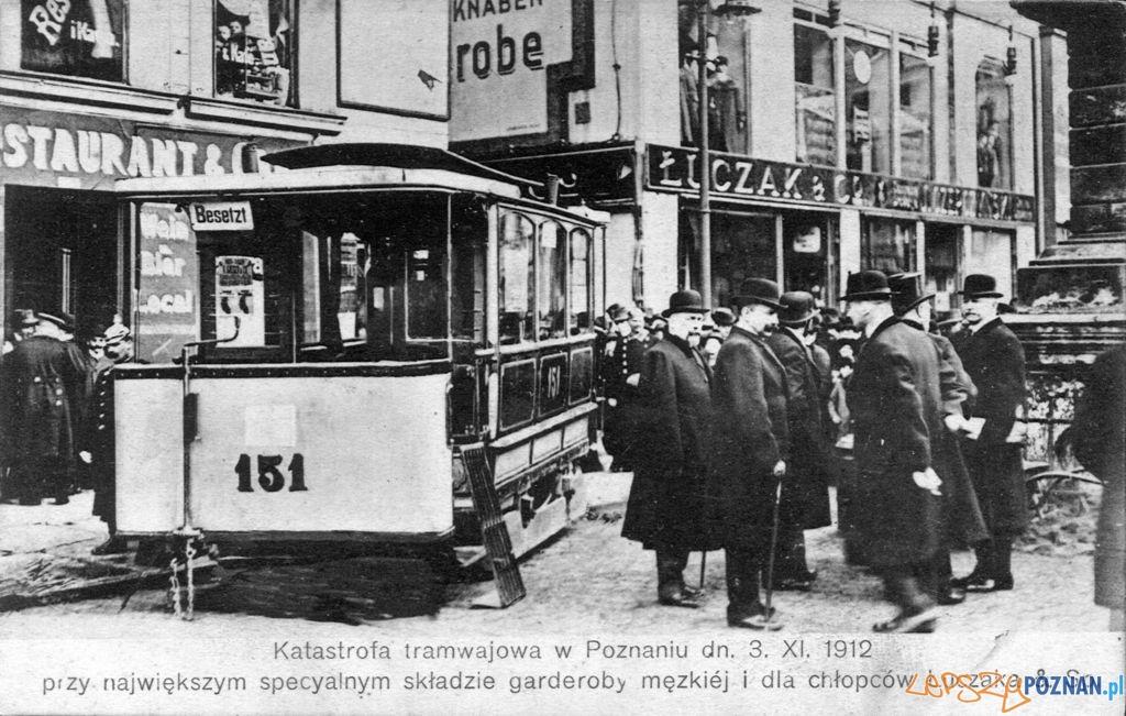Katastrofa tram w Poznaniu  Foto: