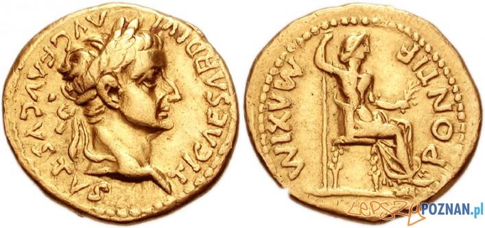 Tiberius Caesar Augustus - monety Foto: cc/wikipedia