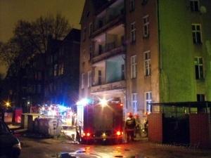 Pożar na Łazarzu Foto: lazarz.pl / Janusz Ludwiczak