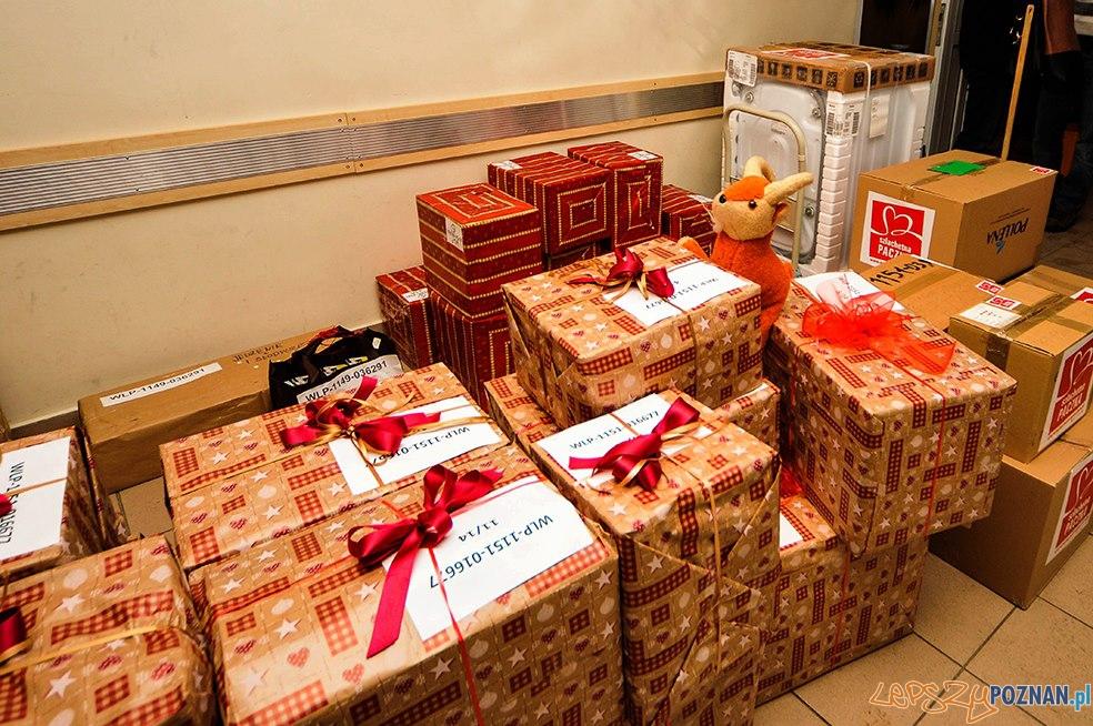 Świąteczna paczka w 2012 roku  Foto: