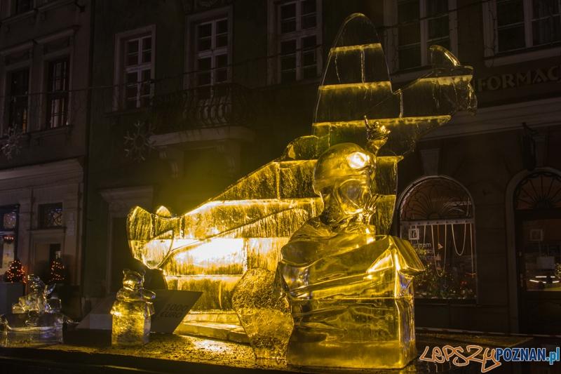 VIII Międzynarodowy Festiwal Rzeźby Lodowej - II nagroda  Foto: lepszyPOZNAN.pl / Piotr Rychter