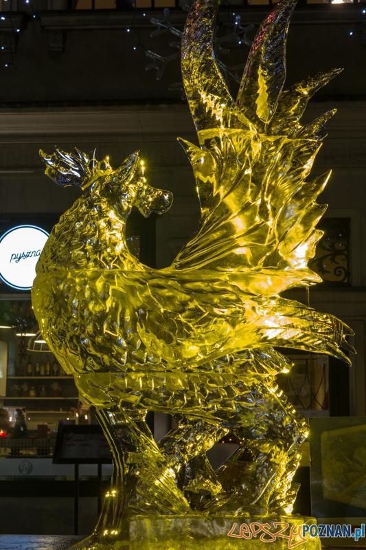 VIII Międzynarodowy Festiwal Rzeźby Lodowej - III nagroda  Foto: lepszyPOZNAN.pl / Piotr Rychter