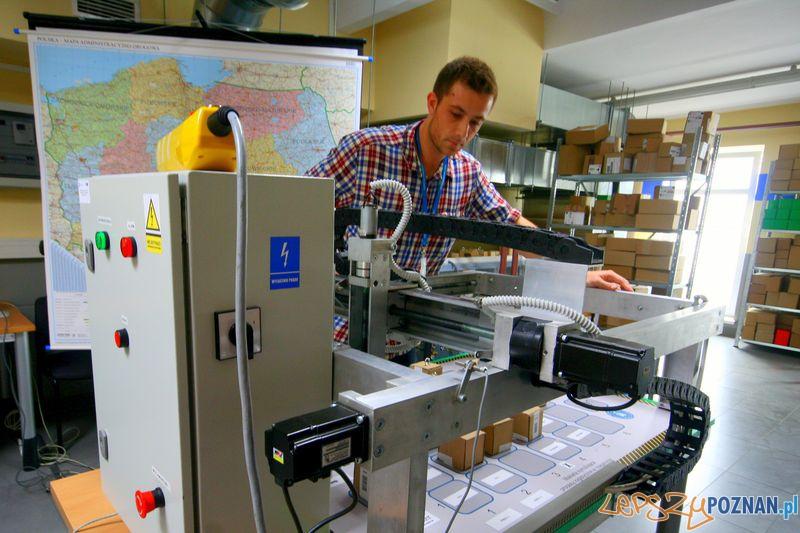 Laboratorium Technik Logistyk. Makieta symulacyjna.  Foto: Przemysław Kozakiewicz