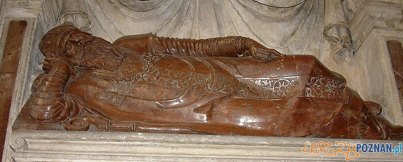Nagrobek Adama Konarskiego w poznańskiej katedrze Foto: CC/wikipedia