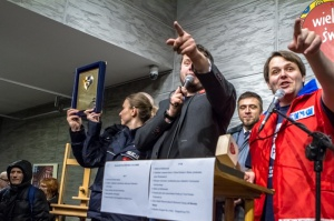 XXII Finał Wielkiej Orkiestry Świątecznej Pomocy - Sztab Poznań - 12.01.2014 r. Foto: LepszyPOZNAN.pl / Paweł Rychter