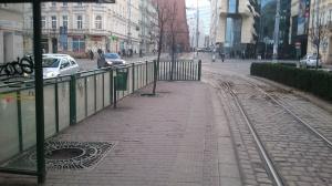 przystanek an alejach Marcinkowskiego Foto: Paweł Sztando