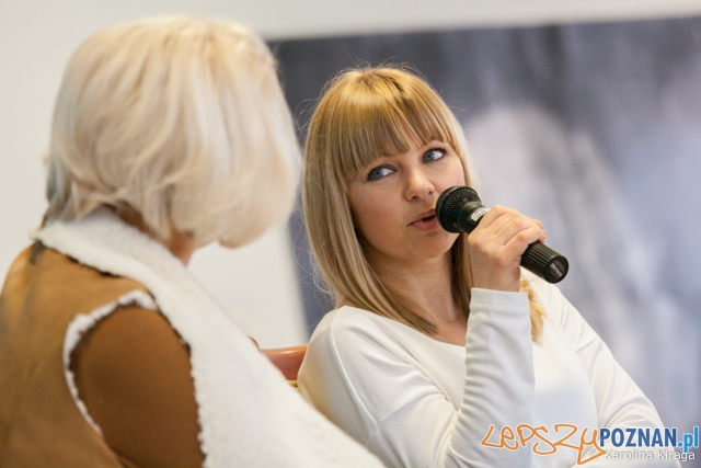 Katarzyna Bujakiewicz na WSHNiD - Poznań 26.02.2014 r.  Foto: Karolina Kiraga