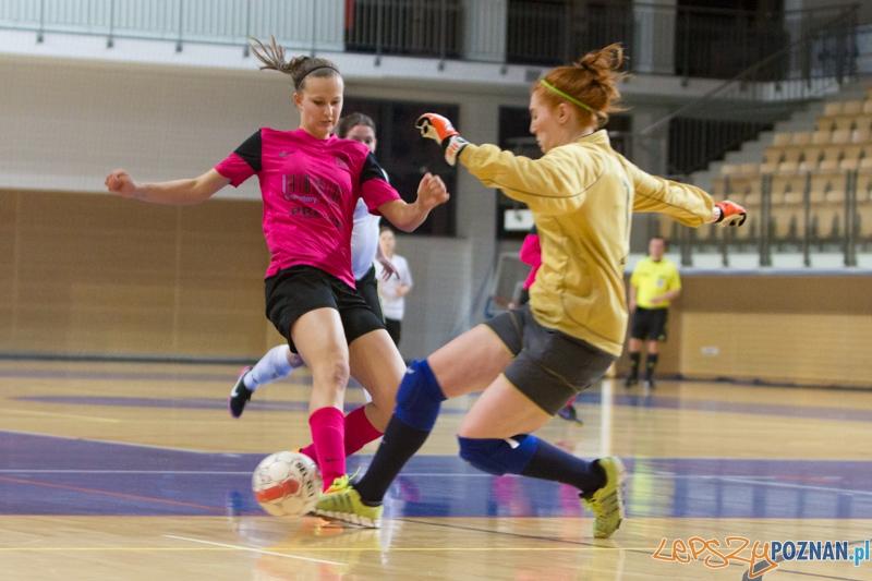 Mecz Ekstraklasy futsalu kobiet UAM – Kresowiak Orion Siemiatycze  Foto: lepszyPOZNAN.pl / Piotr Rychter