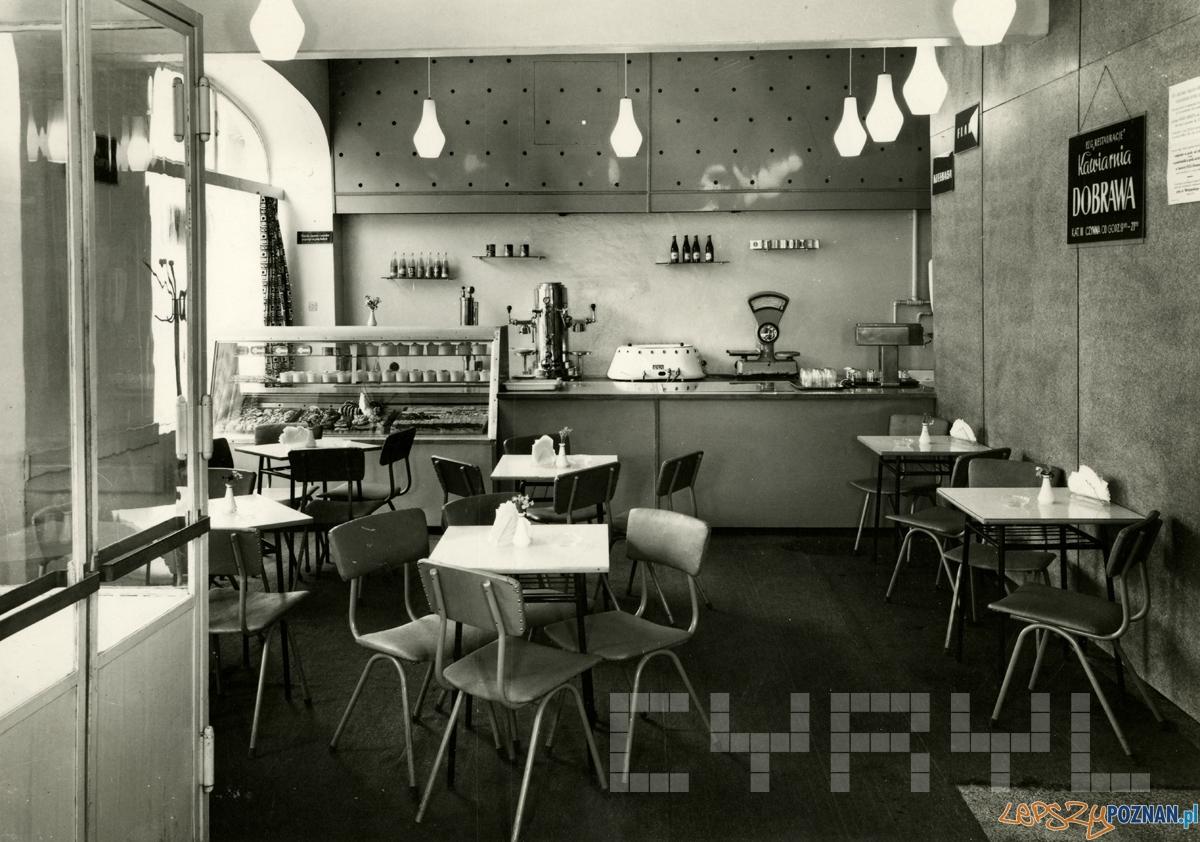 Kawiarnia Dobrawa na Śródce, lata 60 Foto: archiwum Kroniki Miasta Poznania