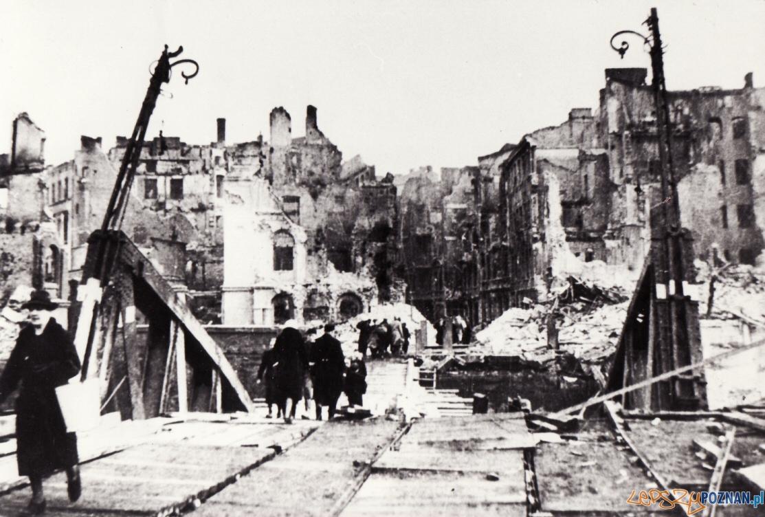 Most Chwaliszewski po wojnie Foto: CC