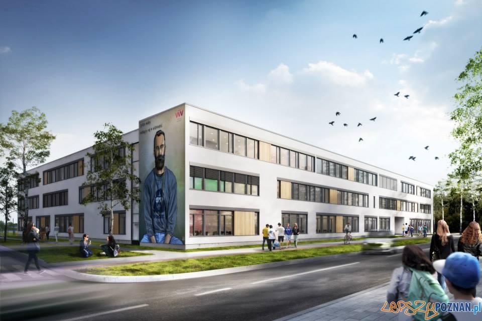 Nowe gimnazjum w Dopiewie - wizualizacje  Foto: Front Architects