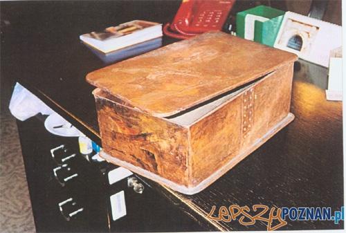 Miedziana skrzynka z dokumentami Foto: ZDM