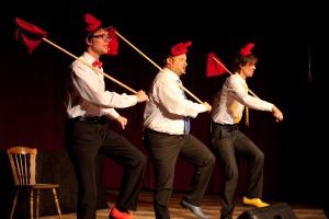 Kabaret Kulturalny RAFAŁSZERZE BEMOLI  - DO LASU - Krasnoludki Foto: Miłosz Kosicki