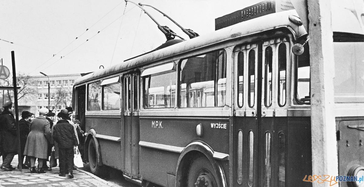 Trolejbus na Ogrodach Foto: Norbert Rzepka / MPK
