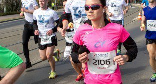 7 Półmaraton - Poznań 06.04.2014 r.