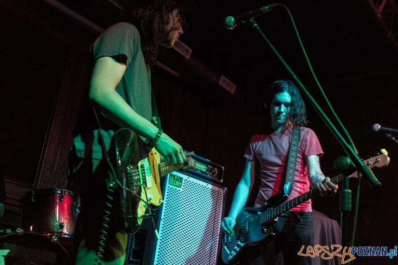 Koncert zespołu Blood Red Shoes (support The Wytches) - Poznań 07.04.2014 r.  Foto: LepszyPOZNAN.pl / Paweł Rychter