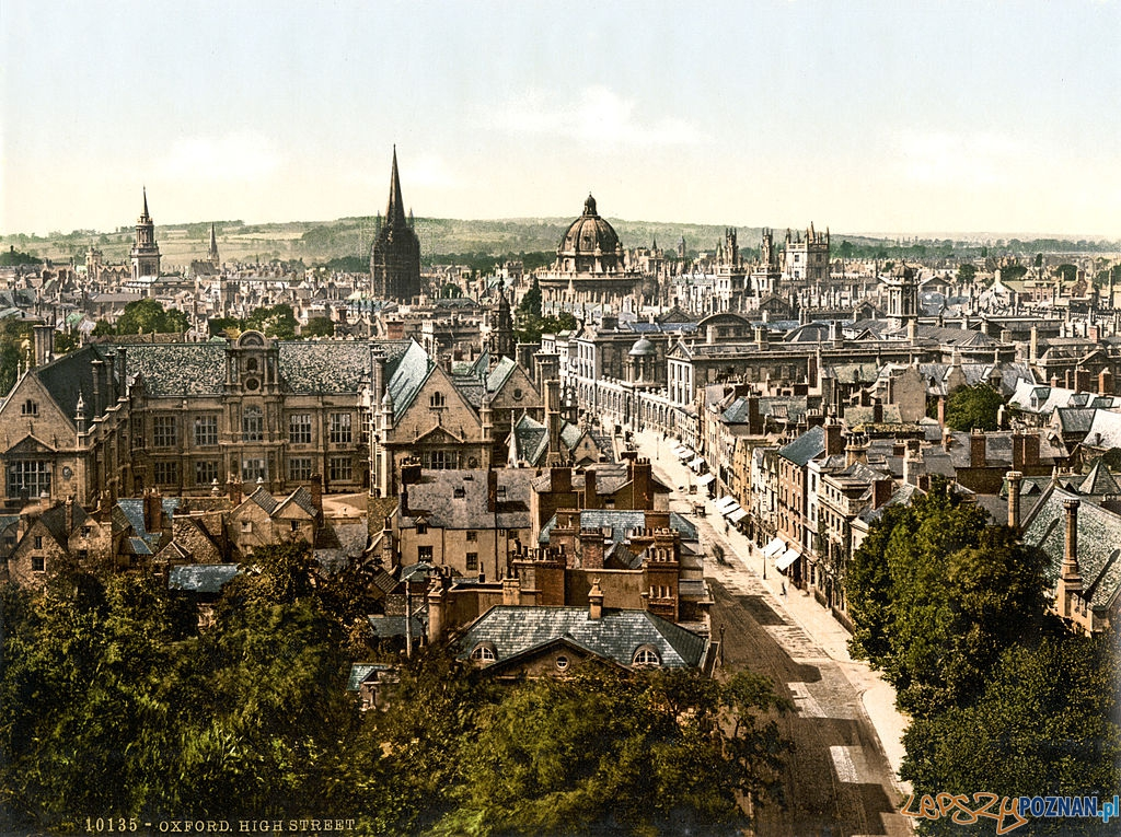 High_Street,_Oxford,_England,_1890s Foto: wikipedia