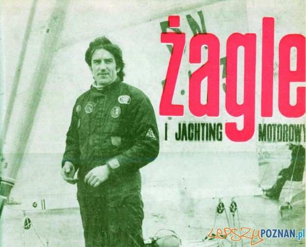 Bogdan Kramer na okładce czasopisma Żagle Foto: zagle.com.pl