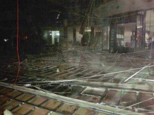 Zawalony sufit w PCC Foto: JRG-4 / Błażej Wiącek