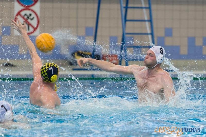 DSW Waterpolo Poznań - ŁSTW Uniwersytet Łódzki (Paweł Wielgórski, Piotr Michalski)  Foto: lepszyPOZNAN.pl / Piotr Rychter