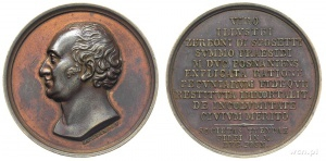 Zerboni di sposetti_XIX w medal Foto: Głogowskie Forum Historyczne