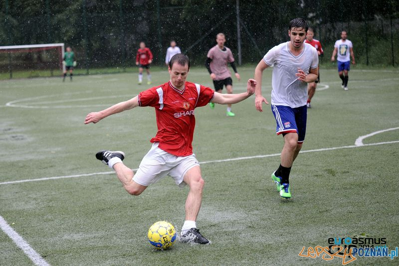 Euroasmus Cup w strugach deszczu Foto: mat. prasowe