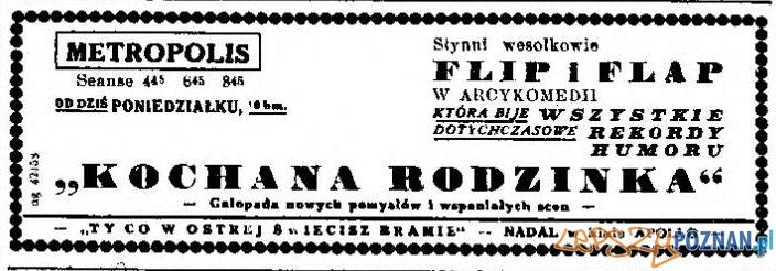 Ogłoszenie Kurier Poznański 11.05.1937, wydanie wieczorne