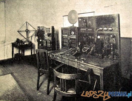 Aplifikatornia radia poznańskiego w budynku Arkadii Foto: http://historiaradia.neostrada.pl/