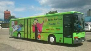 Ksiązkobus czeka na dzieciaki Foto: mat.prasowe