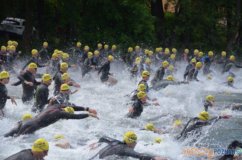 Triathlon w Lusowie  Foto: mat. prasowe