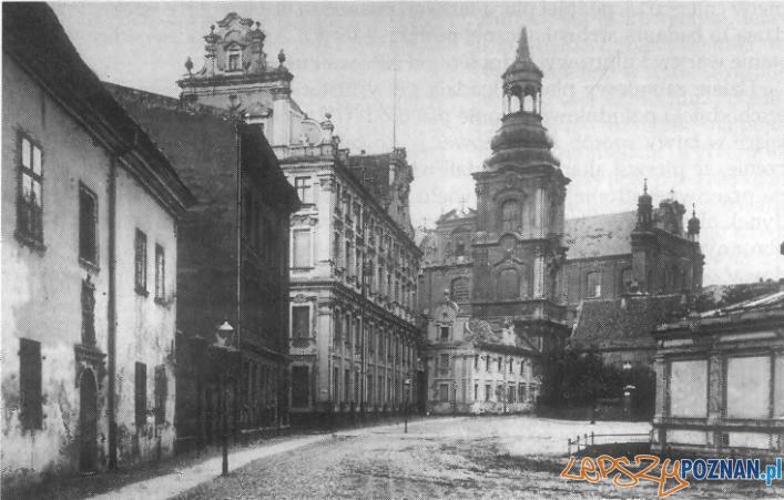 Kolegium_jezuickie koniec XIX wieku Foto: WBC
