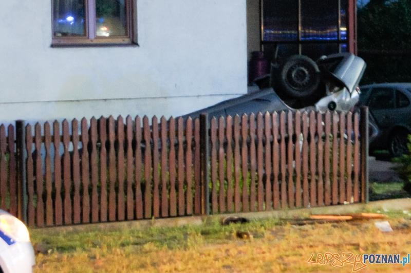 Śmiertelny wypadek w Lucinach Foto: isrem.pl / Michał Ratajczyk