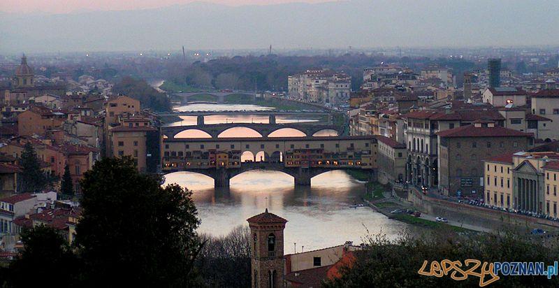Florenckie mosty Foto: wikipedia/CC