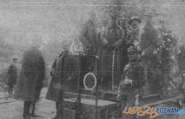 Uruchomienie kolejki do Biedruska 21.07.1923 PrzewKat Foto: Przewodnik Katolicki