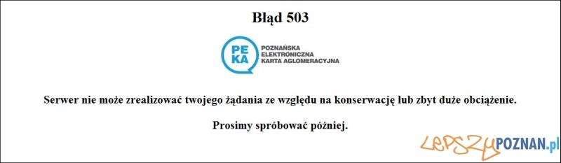 Strona systemu PEKA Foto: www.peka.poznan.pl