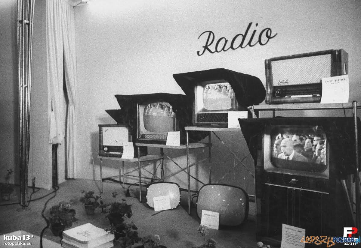 Ekspozycja osiągnięć radzieckiej technik na targach w 1957 r. Foto: fotopolska