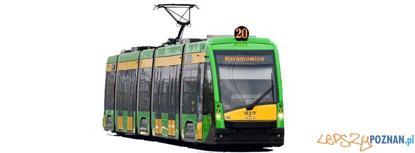 Naramowice tramwaj  Foto: Inwestycje dla Poznania
