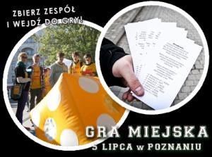 Gra Miejska na sportowo (plakat) Foto: materiały prasowe