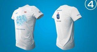 Projekty koszulek na 15. Poznań Maraton