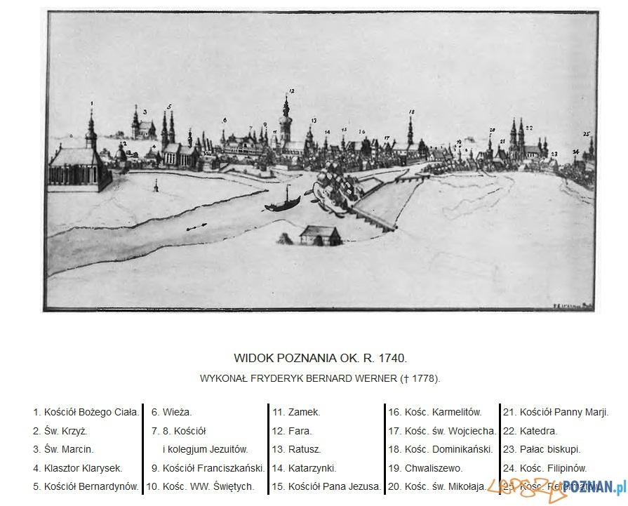 Poznań 1740 Foto: wikipedia