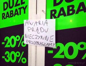 Awaria Foto: lazarz.pl / Janusz Ludwiczak