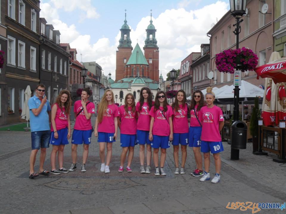 Koszykarki AZS - juniorki w Gnieźnie  Foto: