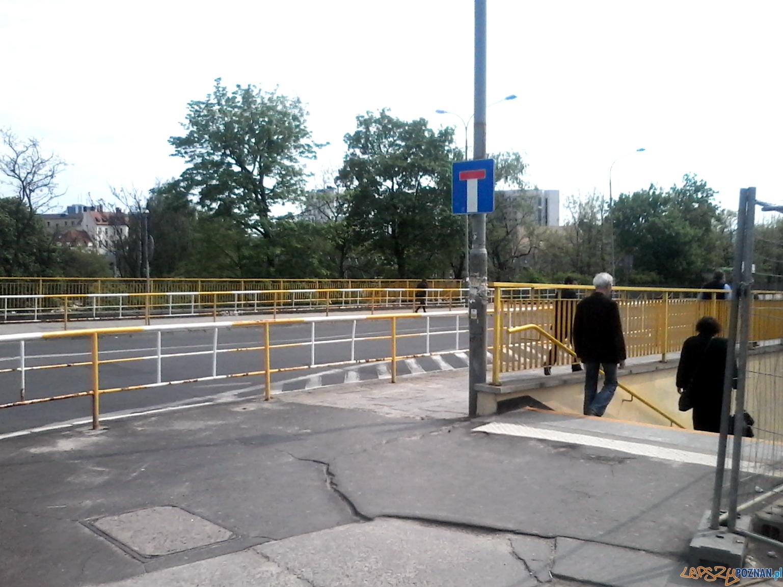 Przejście dla pieszych na Dworcowej  Foto: Paweł Sztando