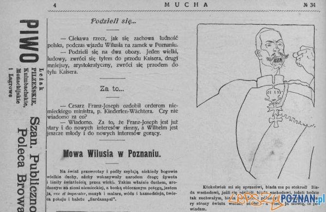 Mucha 19.08.1910 Zamek w Poznaniu Foto: WBC