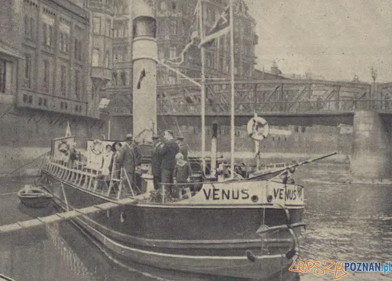 Parowiec Żeglugi Wielkopolskiej Foto: Ilustracja Poznańska z 4.08.1931 za WBC